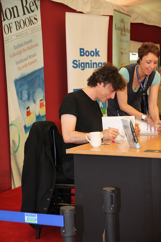 Neil Gaiman all'Edinburgh Fest 2011