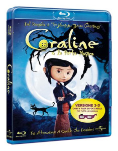 Coraline in dvd e Blu-Ray